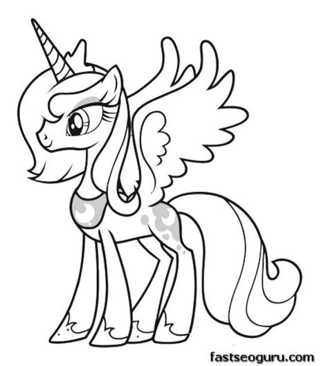 my little pony friendship is magic coloring pages to print free coloring pages my little pony friendship is magic