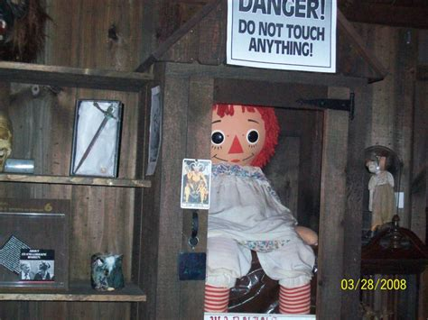 annabelle doll in museum the story of the real annabelle doll blumhouse