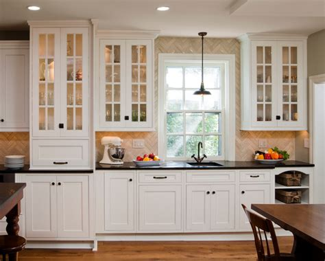 Period Kitchen Cabinets Period Inspired Kitchen Remodel Wayne Pa Traditional Kitchen Philadelphia By Hometech