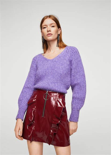 Nzam St Overal Skirt ruffled vinyl skirt mango cyprus euros