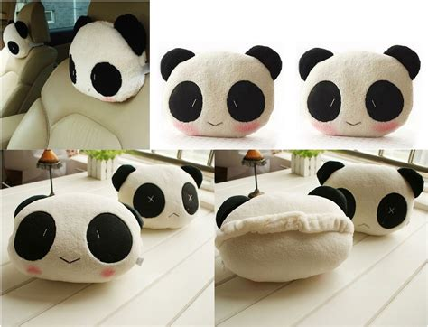 Guling Panda I Panda Pillow jual bantal pillow car mobil travel panda lucu doll