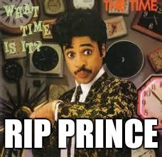Prince Meme Generator - image tagged in rip prince morris day imgflip