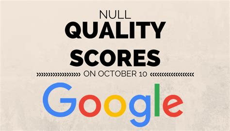 adsense quality score google continues to display quality score data until