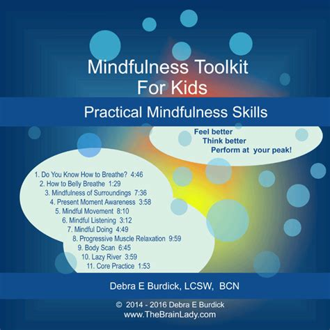 mindfulness for worry and easy strategies to let go of anxiety worry and stress the instant help solutions series books mindfulness toolkit for mp3 the brain