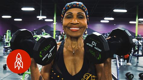 what is the old blacklady thatshape meet the 80 year old bodybuilder youtube