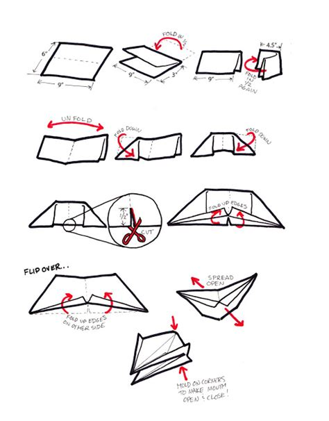 How To Make A Paper Bird Beak - id june 2011
