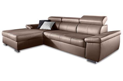sofa braun ecksofa mit schlaffunktion braun daredevz