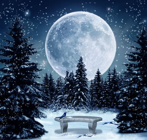 the february full snow moon is glistening for you