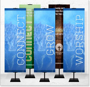 church banners & displays   fabric & vinyl banners