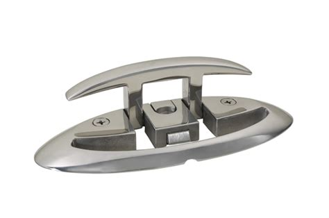 folding boat cleats accon marine folding cleat
