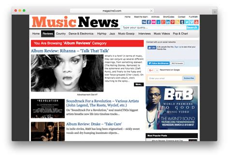 newspaper theme songs 15 best wordpress music themes for musicians bands dj