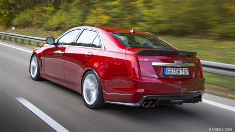 Cadillac Cts 14 2016 Cadillac Cts V Spec Rear Hd Wallpaper 14
