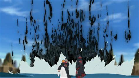 Imagem - Amaterasu de Sasuke vs. Hachibi.PNG | Wiki Naruto ... Hachibi Vs Sasuke