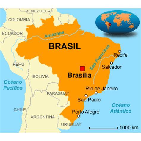 imagenes satelitales brasil brazil mapa
