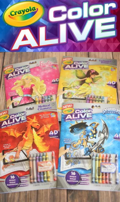color alive kid activity 4d crayola color alive