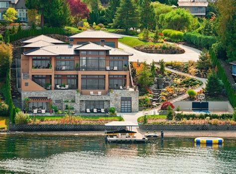 Wonderful Lakeside Estate In Bellevue Washington Luxury Homes In Bellevue Wa