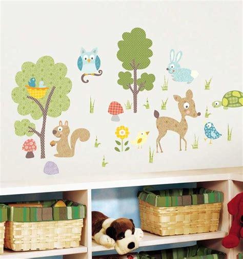 Kinderzimmer Gestalten Waldtiere by Best 25 Wandtattoos Kinderzimmer Ideas On