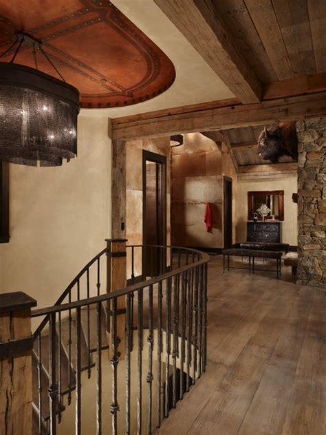 bauernzimmer dekor rustic staircase