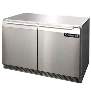 charming Undercounter Refrigerator With Icemaker #1: continental-refrigerator-ucf48-48-undercounter-freezer.jpg