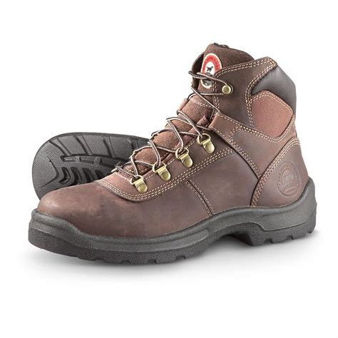 mens work boots ireland s setter 6 quot steel toe eh work boots mocha