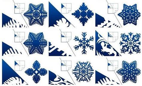 Papier Schneeflocken Vorlagen by How To Diy Pretty Kirigami Snowflakes Free Template