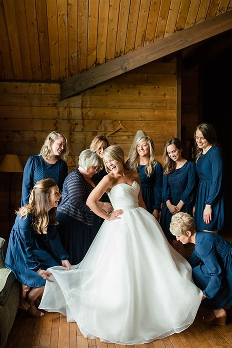 Rustic Navy Blue Wedding