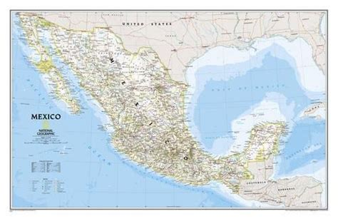 south africa classic laminated national geographic reference map books read on anytime mexico classic laminated national