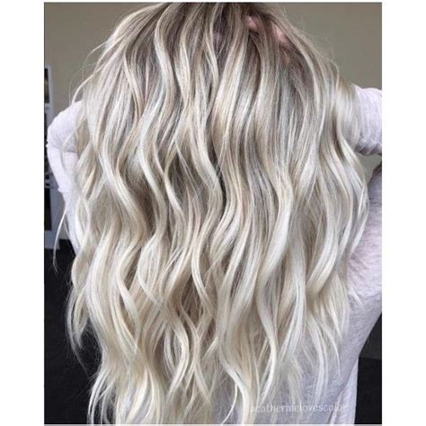 blonde hairstyles polyvore 25 beach blonde hair ideas from instagram liked on