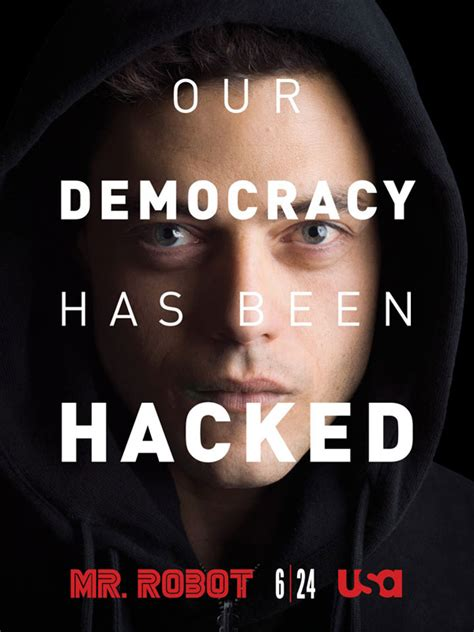 film hacker informatique mr robot s 233 rie tv 2015 allocin 233
