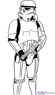 trooper coloring page how to draw a stormtrooper step by step wars