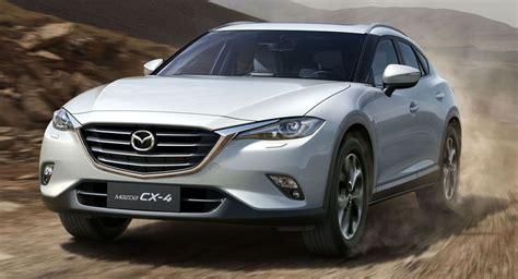 mazda cx1 visual comparison mazda cx 4 vs koeru concept carscoops
