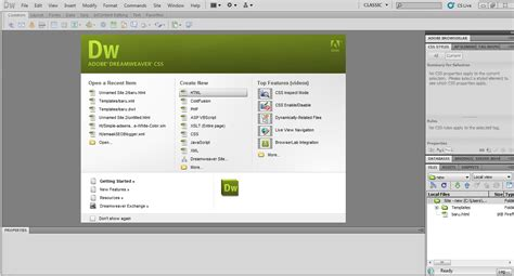 tutorial website using dreamweaver pengenalan dreamweaver