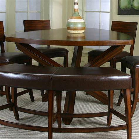 Triangle Dining Table Set Shiraz Triangle Counter Height Dining Table Cramco Furniturepick