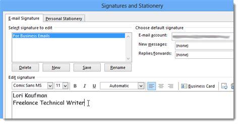 membuat email di outlook membuat mail signature di outlook 2013 bestariweb hosting
