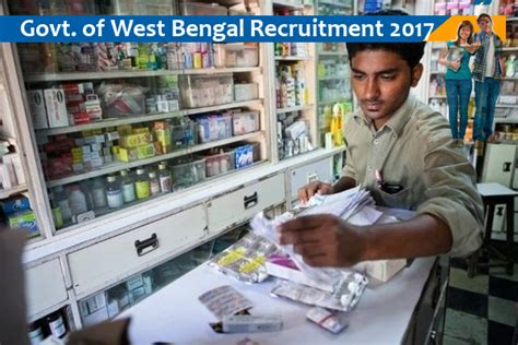 Pharmacist Vacancy by Pharmacist Vacancy In Paschim Medinipur District West Bengal