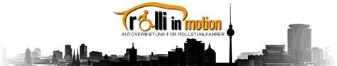 Rollstuhlgerechtes Auto Mieten by Behindertengerechte Mietwagen F 252 R Rollstuhlfahrer Berlin