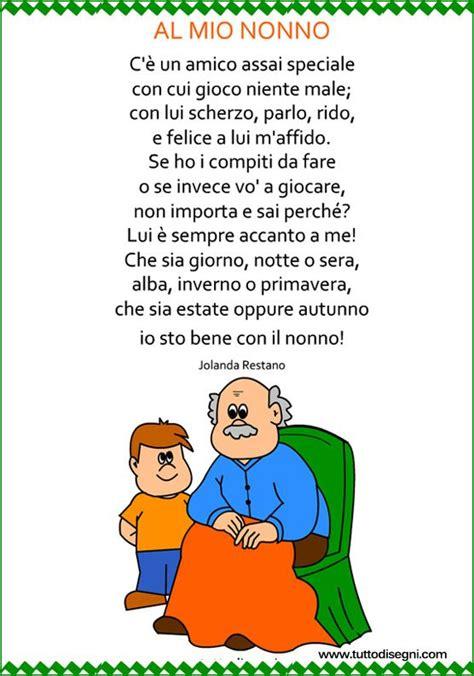 cornici per poesie poesia per il nonno con cornice tuttodisegni