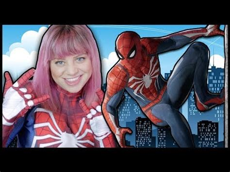 spiderman insomniac games ps suit unboxing youtube
