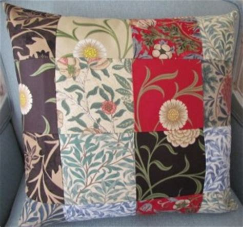 William Morris Patchwork Fabric - home from cushions to curtains
