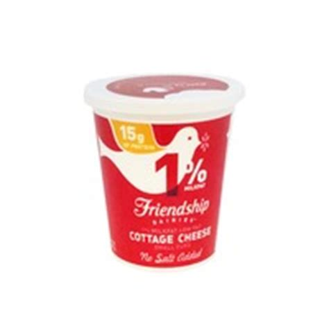 friendship no salt cottage cheese from whole foods market
