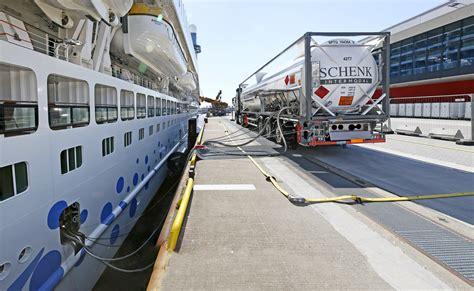 Aidaprima Motor by Zwei Aida Schiffe In Hamburg Mit Lng Versorgt 171 Azur 176 Das