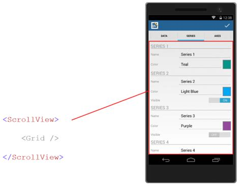 xamarin layout scrollable tips for building adaptive xamarin forms apps componentone