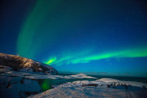wallpaper northern lights aurora borealis starry sky