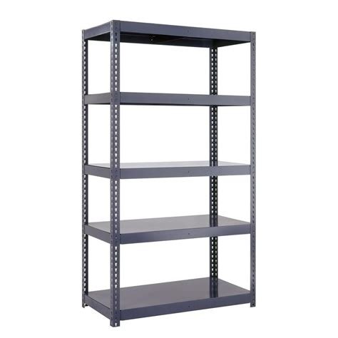 96 inch high bookcases edsal 96 in h x 36 in w x 18 in d 5 shelf high capacity