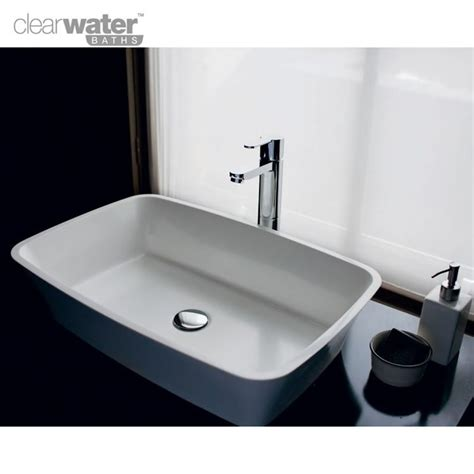 Clearwater Palermo Natural Stone Countertop Basin Uk