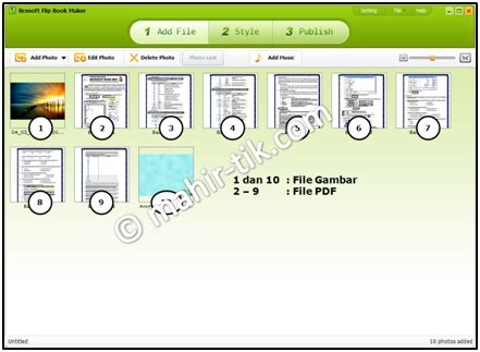 cara membuat cover buku tik mahir tik com 187 blog archive 187 cara membuat tilan buku 3d
