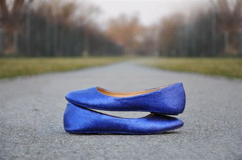 Blue Wedding Flats by Wedding Flats Royal Blue Wedding Flats Royal Blue Glitter
