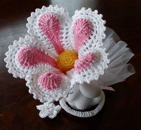 fiore ad uncinetto fiore ad uncinetto 3d bomboniera segnaposto quot giglio