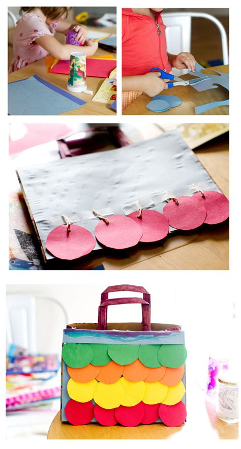 Things To Make With Construction Paper - no monsters in my bed things to make paper bag purses