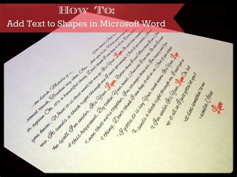 add text  shapes  microsoft word tutorial click